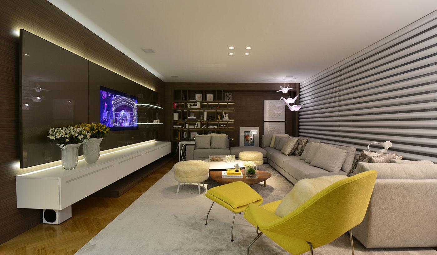 Sala Planejada com Estilo Moderno